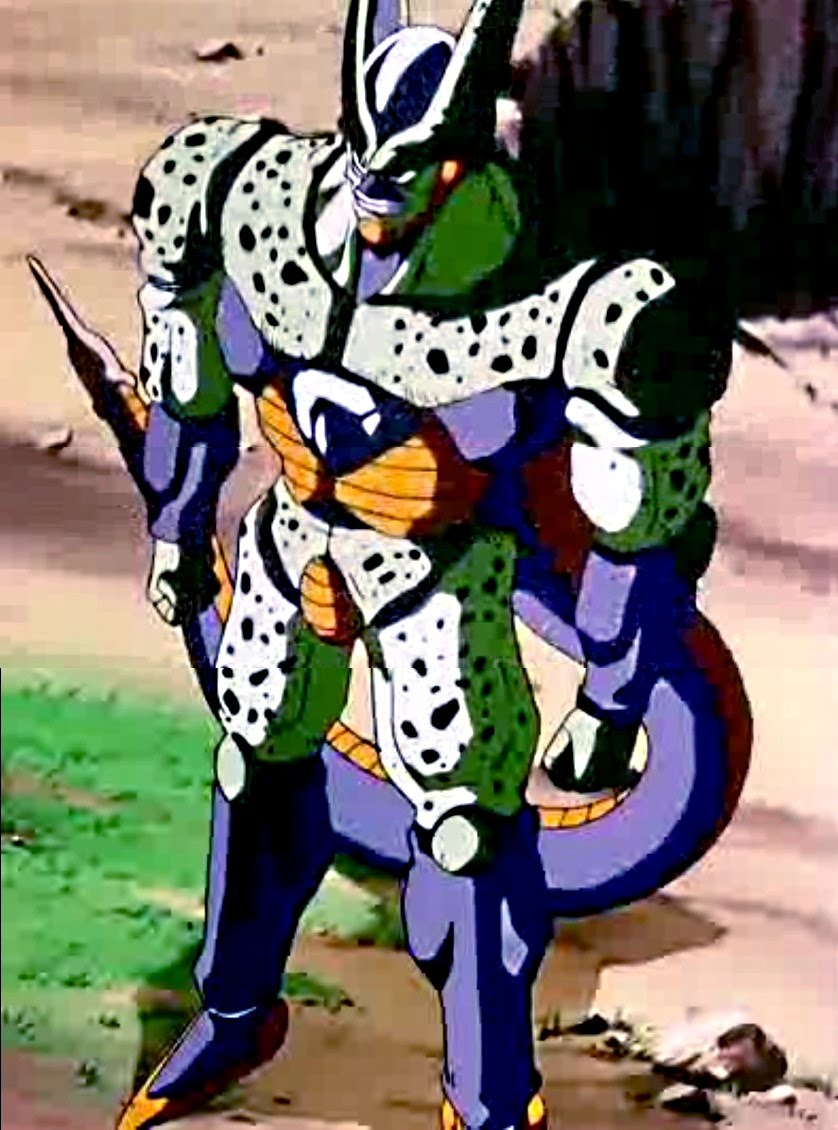 Cell's Transformations - Silver Shenron