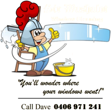 Sir Washalot will even help you clean your own windows!