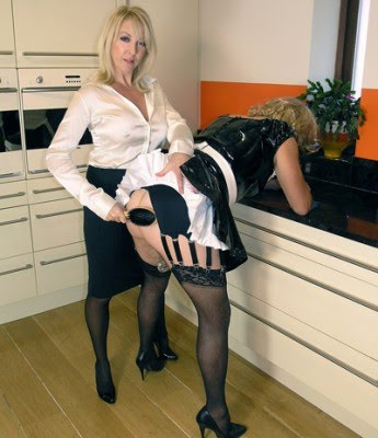 Sissy tortured with pantyhose