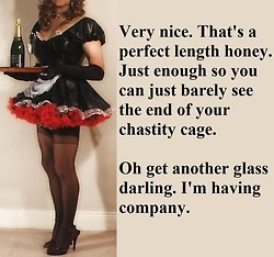 Well Sissy I Did Tell You To Make Sure You Looked Perfect For Me That Includes Your Hair Something Tells Me Next Time You Will Remember