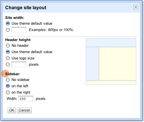 Customize your site sidebar - Template tips