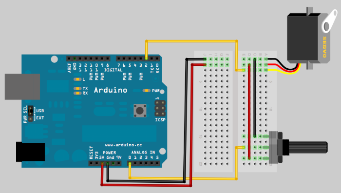 Arduino servo motor basics notes