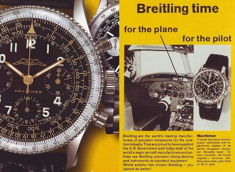 What exactly is a slide rule watch? BreitlingForThePilot2