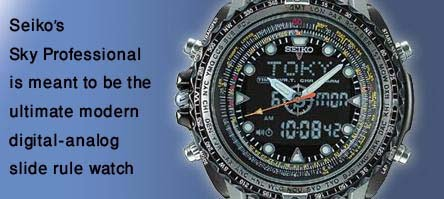 What exactly is a slide rule watch? SkyProfessional