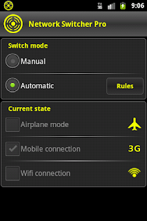 Network Switcher Smart Android Designs