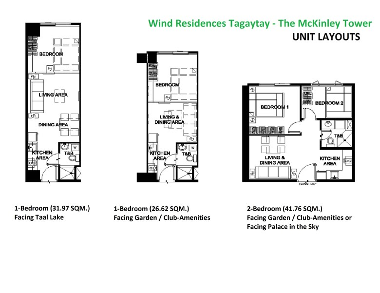 Unit floor plan smdc wind residences tagaytay for 560 salon grand junction