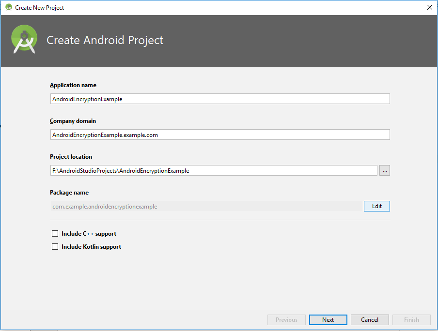 AES Encryption program(Android Studio) - Secure Mobile