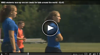 Wcax.com mmu-students-lace-up-soccer-cleats-for-kids-around-the-world