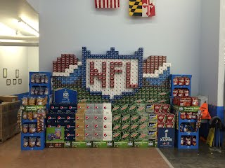 NFL Displays  Soda Displays