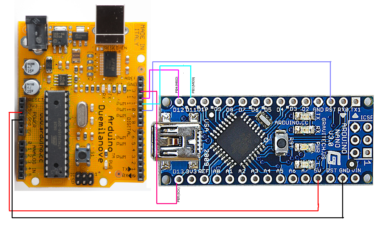 Arduino nano not taking code from computer page