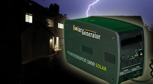 Solar Uninterrupted Power Supply Ups Power From Sun