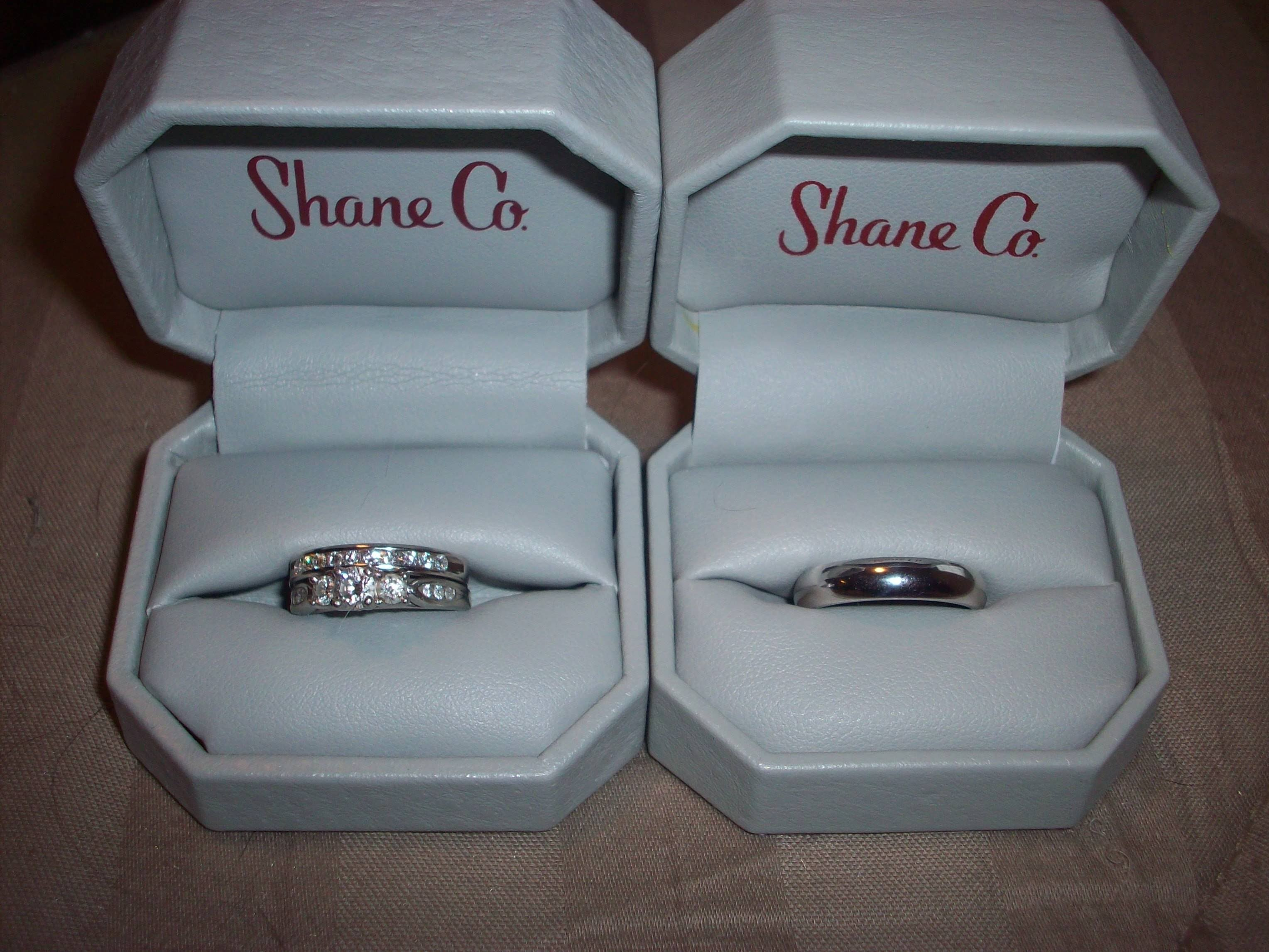 Shane Company Wedding Bands 69 Lovely We got my e
