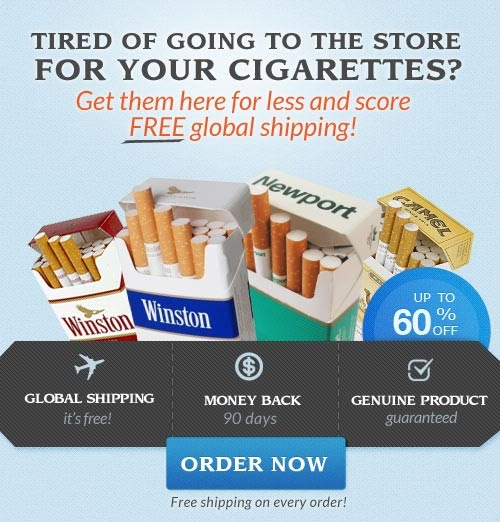Buy cheap cigarettes online free shipping Lucky Strike