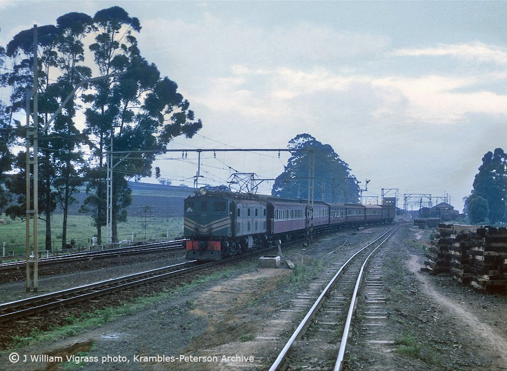 The New Main Line from Rossburgh to Pietermaritzburg compiled by Les ...