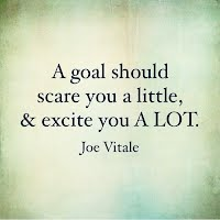 A goal should scare you a little and excite you a lot. - Joe Vitale