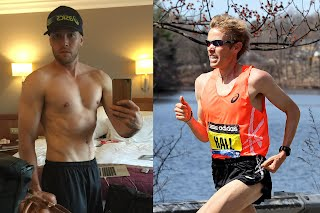 Ryan Hall gained 40lbs of muscle after he retired from running