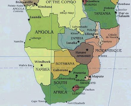 Southern Region of Africa