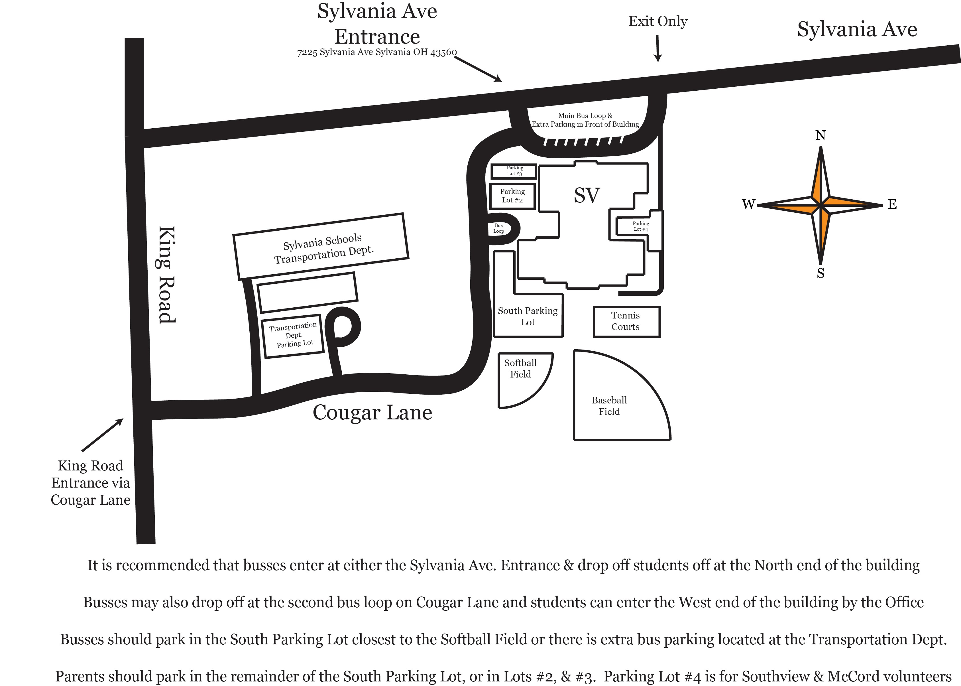 Directions - Sylvania Southview Science Olympiad