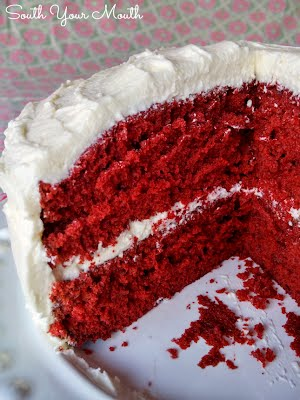 South Your Mouth Red Velvet Cake