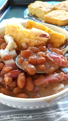 Slow Cooker Pinto Beans - South Your Mouth