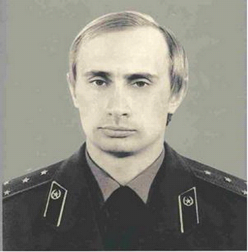 Image result for kgb Lt Col vladimir v putin in uniform