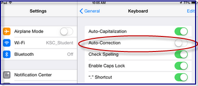 google keyboard how to change autocorrect settings