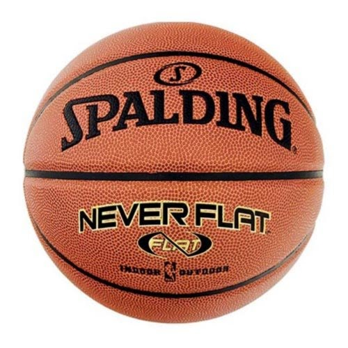 36cf0a2b259 Product Description. Spalding Never Flat Indoor Outdoor Composite Leather  Basketball