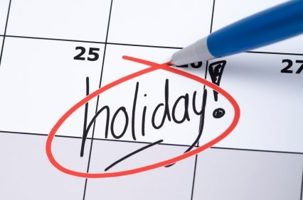 Names of holidays in Spanish