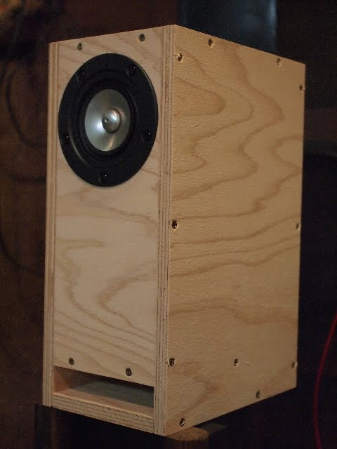 DIY ] Hyper Bass-Reflex Type Enclosures (for Single Driver