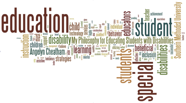 labeling disability and special education essay I am not anti using labels to diagnose a problem, as i understand that most labeling is necessary in order to identify a problem that needs specialist attention and can relieve the parent and.