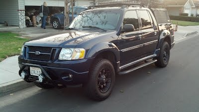 2001 ford explorer sport trac tire size