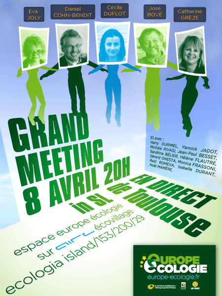 8 avril meeting europe ecologie dans second life