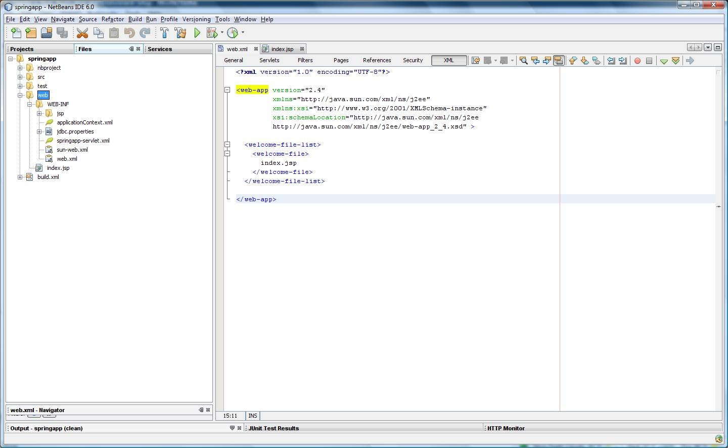 step-by-step - springmvcnetbeans