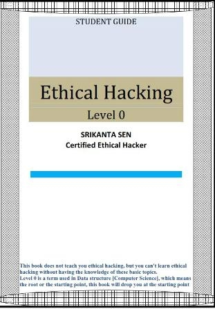 Ethical hacking level 0 - Srikanta Sen's Site and Home Page