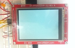 Graphic LCD Colour Touch Screen