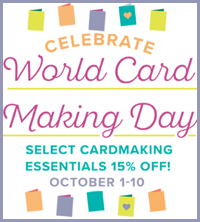 Celebrate World Card Making Day with Stampin Up