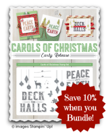 Carols of Christmas, Stampin Up