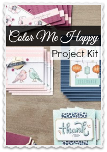 Color Me Happy by Stampin Up