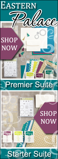 Stampin Up Eastern Palace Suite