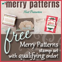 Stampin Up Host Special - Merry Patterns