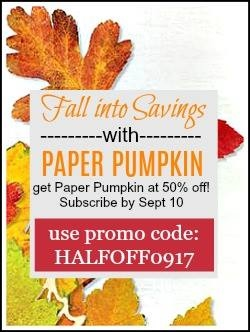 Paper Pumpkin from Stampin Up