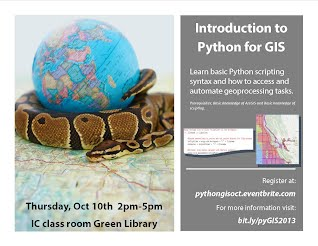 Introduction to Python for GIS - Stanford Geospatial Center