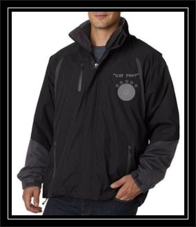 """USA POET"" UltraClub Adult Color Block 3-in-1 Systems Hooded Jackets"