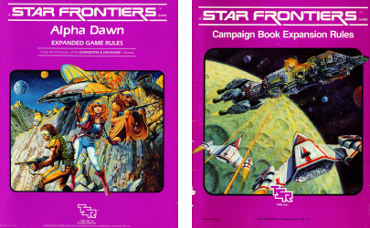 About Star Frontiers - The Mystery of Starium X