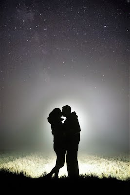 Lovers under the stars