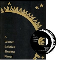A Winter Solstice Singing Ritual cover with CD