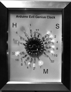 arduino led clock instructables