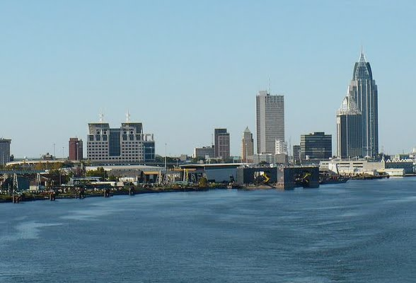 City of Mobile Skyline