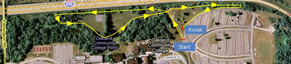 Occ Southfield Campus Map.Occ Orchard Ridge Campus Cross Country