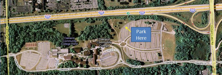 Oakland Community College Farmington Hills Campus Map.Occ Orchard Ridge Campus Cross Country